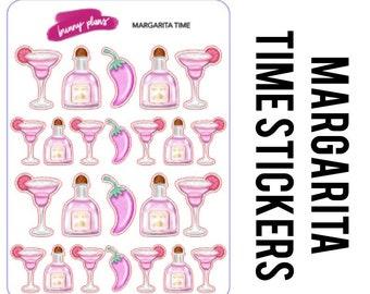Margarita Time Planner Stickers | Margarita, tequila, pepper