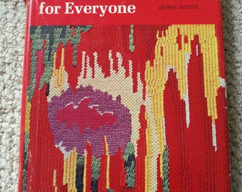 Needlepoint for Everyone Vintage Book by Picken and White