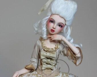 Rococo. Bjd Author's fullset OOAK design resin doll