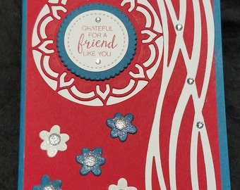 Grateful For a Friend Like You Greeting Card