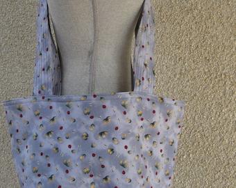 Tote Bag, Quilted Bag, Market Bag, Book Bag, Carry Bag, Shopping Bag, Weekender Bag, Carry-on Bag, Cross Body Bag, Cotton Bag, Reversible