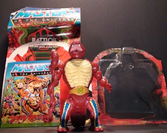 1985 Mattel Masters Of The Universe Rattlor Action Figure New In Opened Package