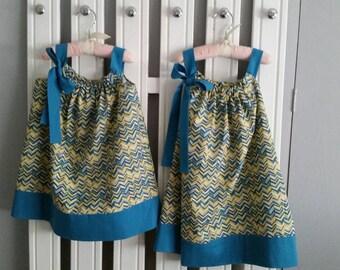 Little Girls Sun Dress or Jumper