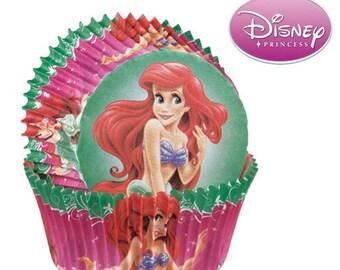 Ariel Cupcake Liners/ Little Mermaid Liners/ Cupcake Papers