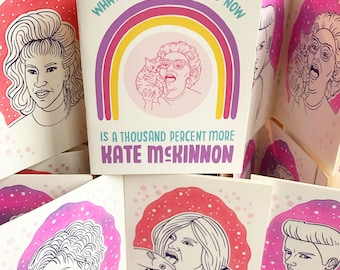 A Thousand Percent More Kate McKinnon Zine