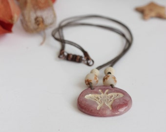 Butterfly Rose necklace