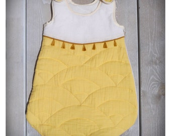 Double quilted cotton gauze baby Swaddle