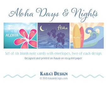 Aloha Days & Nights note cards