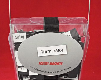 Terminator Poetry Magnets - Refrigerator Word Quote MagnetsFree Shipping