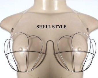 wire bra frame Shell Shape we ship from USA