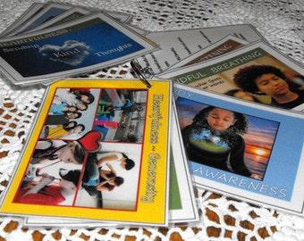 Mindful Minute Card Set - Grades K-5