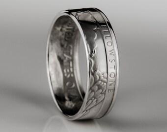 Yellowstone Quarter - Coin Ring - SILVER (.900)