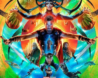 "Thor - Ragnarok ( 11"" x 17"" ) Movie Collector's Poster Print"