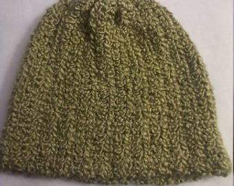 Stocking hat in green