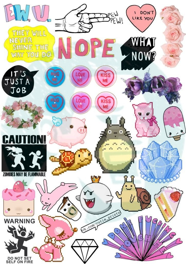 This is a photo of Accomplished Printable Stickers Tumblr