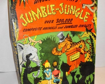 1942 Jumble Jungle Game by BF Jay. Very Nice.