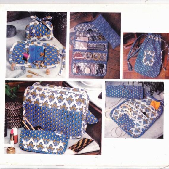 Vogue 1528 Travel Accessories Jewelry Roll Hanging Organizer