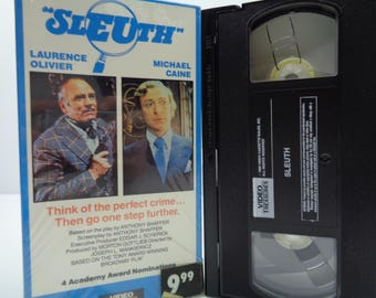 sleuth VHS Tape