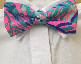 Lilly Pulitzer Little Boy Coco Breeze Bow Tie