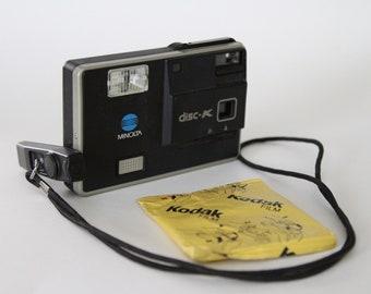 Minolta Disk-K Camera, Disk Camera, Minolta Camera