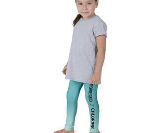 Powered By Chlorine Kid's Leggings
