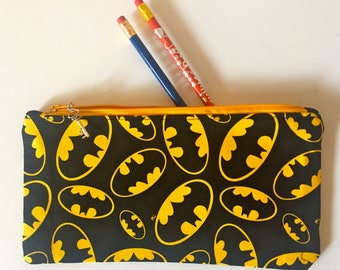 Batman Pencil Pouches/Case party favor/Marvel pencil case
