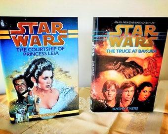 Pair of 1994 Star Wars novels (Hardback)