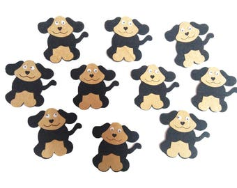 Best Puppy Applique / Scrapbook Craft Making Puppy Patches, Glue Stick Dog Appliques, Animal Shapes for Sewing & Craft Projects, Dog Puppy