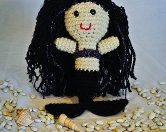 Crocheted Amethyst Mermaid
