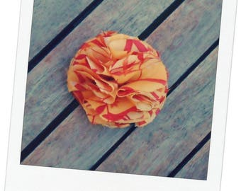 This hair stick, hair flower barrette ball colors