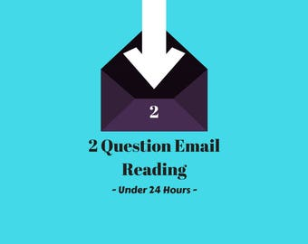 Fast Psychic Reading - Under 24 Hours - 2 Questions (PDF)