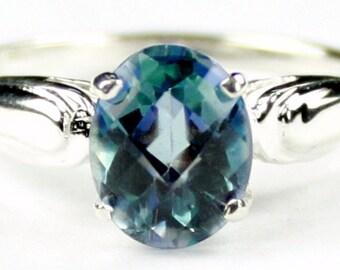 Neptune Garden Topaz, 925 Sterling Silver Ring, SR058