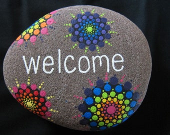 Mandala Welcome Rock