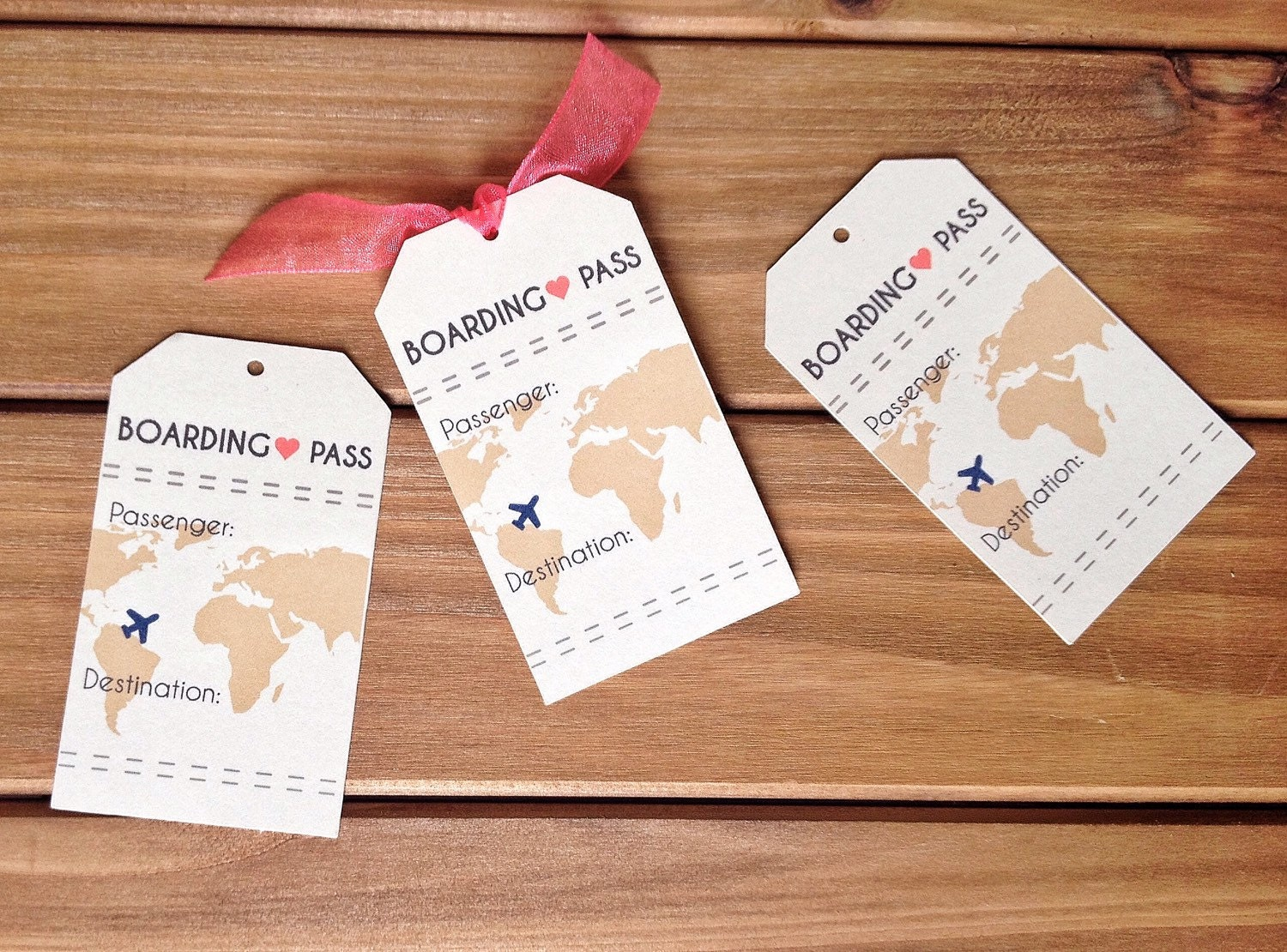 INSTANT DOWNLOAD Boarding Pass Travel Wedding Theme