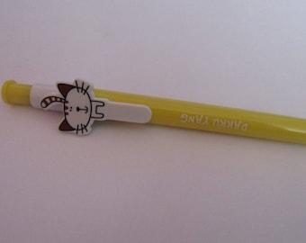 Fancy yellow ball pen