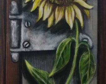Sunflower, Original Art