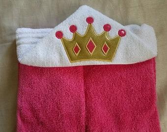 Kids Hooded Towel,Princess Hooded Towel,Gift For Kids,Girls Personalized Hooded Bath Towel,Child's Hooded Towel,Kids Gift,Kids Towel Gift