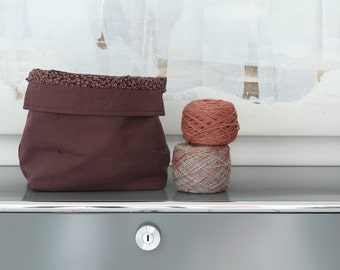 Knitting Project Bag (also for crochet, sewing or stitching)