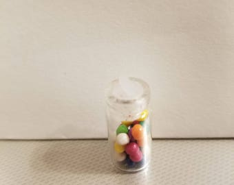 Dollhouse miniature Jar full of bubble gum