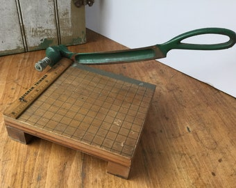 Vintage Paper Cutter and Trimmer