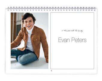Evan Peters Vol.3 - 2018 Calendar