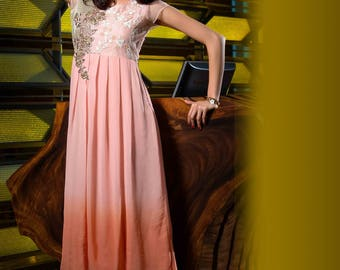 New Indian Pakistani Bollywood Designer Kurta Kurti for Ethnic Women Dress Top Tunic Georgette