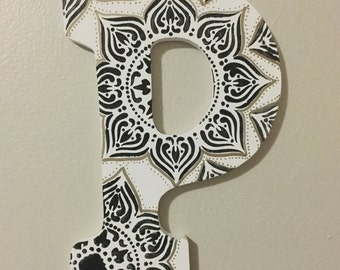 Personalized letter wall decor