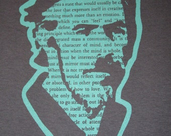 Alan Watts T-Shirt by Jim Wallace