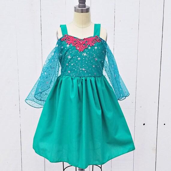 Elsa gefrorene Fieber Kleid Prinzessin Kleid Elsa Frozen