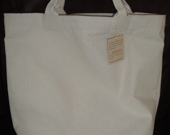 Canvas Tote Bag /Natural