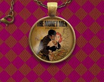 The Money Men Novel Cover Pin, Magnet, Keychain, or Necklace