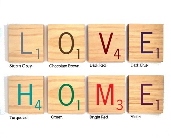 Scrabble Wall Art 3 tiles