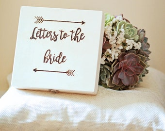 Customized With Date- Letters to the Bride Box