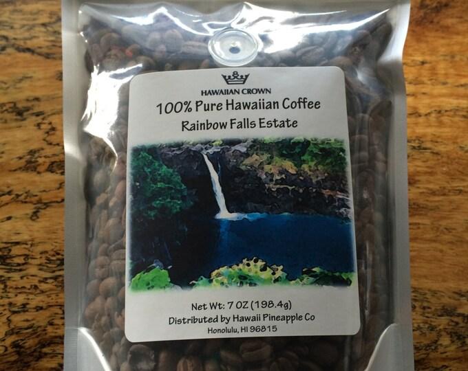 Rainbow Falls Estate 100% Pure Hawaiian Coffee- 7oz